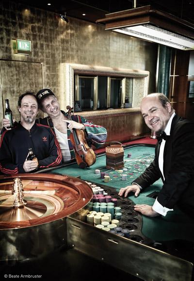 Berta Epple im Casino